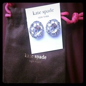 Brand new kate spade earrings never worn