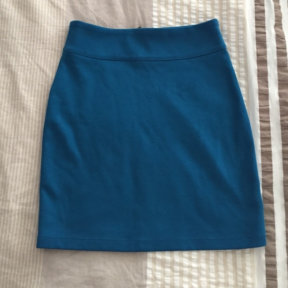 51 outfitters dresses skirts bright blue