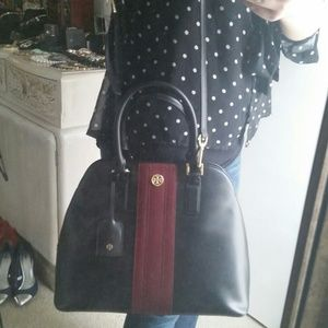 Tory Burch Large Open Dome Satchel