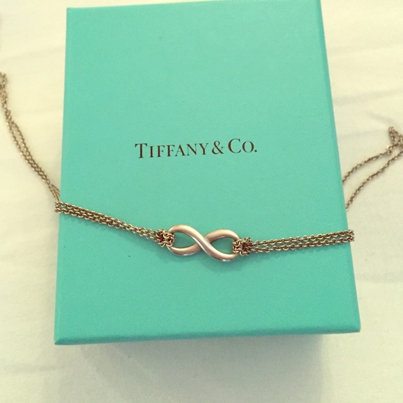 9c302a84c Tiffany & Co. Jewelry | Sterling Silver Tiffany Infinity Necklace ...