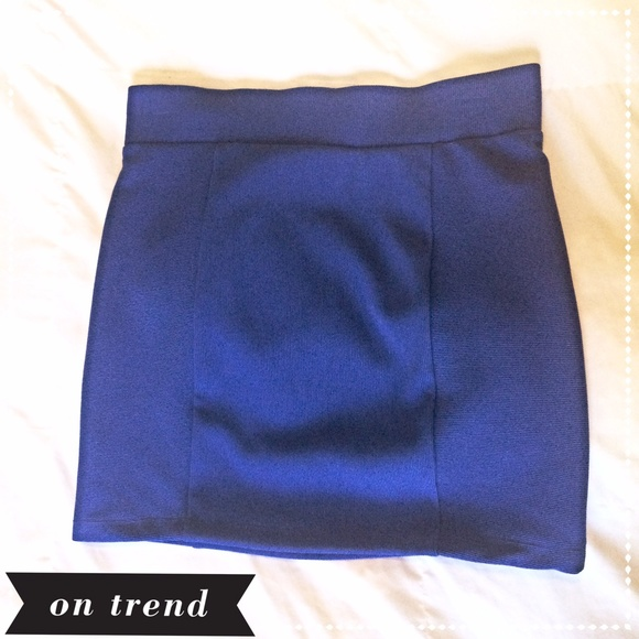 25 forever 21 dresses skirts sold royal blue