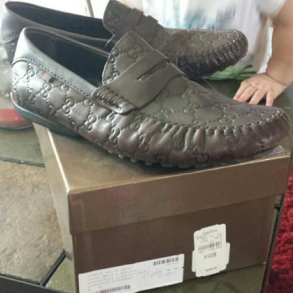 219f911842575 Gucci Shoes   Authentic Mens Moca Pelle S Gomma   Poshmark