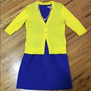 GAP Jackets & Blazers - Gap Bright Yellow V-Neck Cardigan