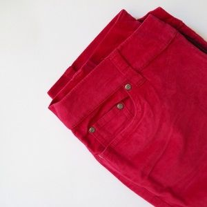 Cherry Colored Jeans