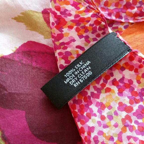 cynthia rowley cynthia rowley square silk scarf from