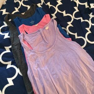Bundle of J. Crew racerback tanks