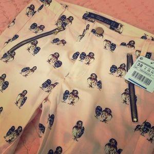 Zara owl trousers