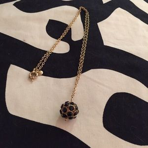 JCrew ball necklace