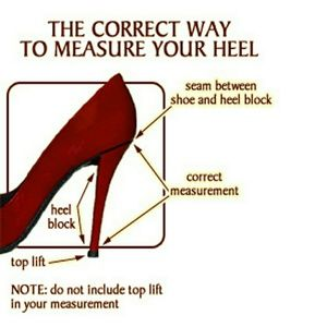 Shoes - Correct Way to Measure Heel Height