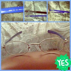 Jean Paul Gaultier Accessories - Jean Paul Gaultier hand made eyeglasses