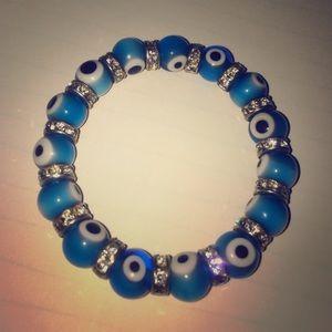 No name Jewelry - Evil eye bracelet
