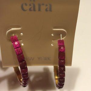 Beautiful Tiled Hoop Earrings