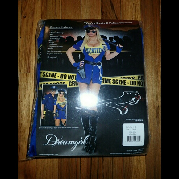 Dreamgirl Youu0027re Busted Police Woman Costume Small & Dreamgirl Dresses | Youre Busted Police Woman Costume Small | Poshmark