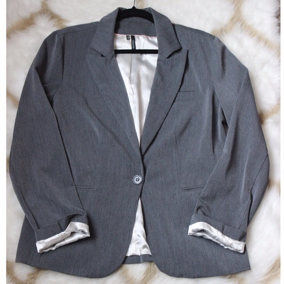 Maurices Jackets & Coats - Maurices Grey Blazer Jacket