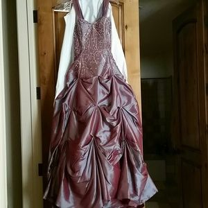 Dresses - Plum Prom Dress