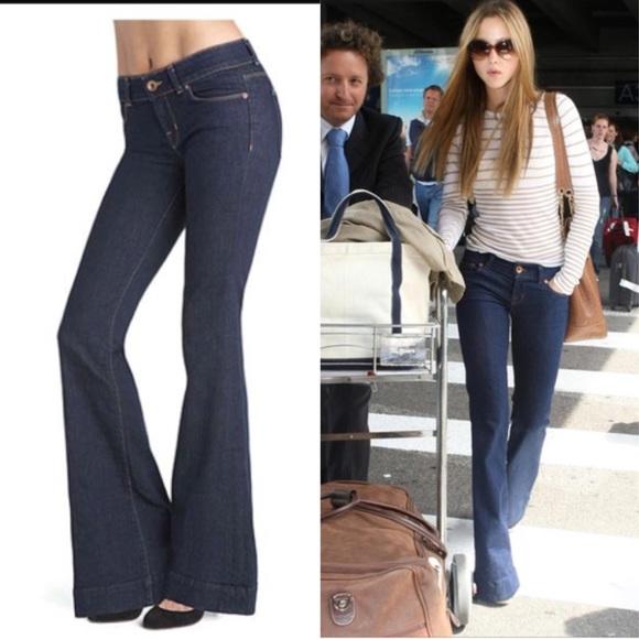 73% off J Brand Denim - J BRAND Lovestory Flare Jeans dark Vintage ...