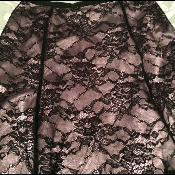 82 off alfani dresses amp skirts lavenderblack lace