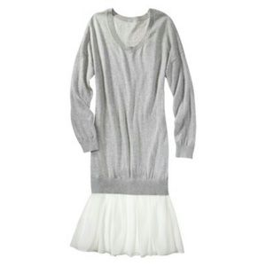 {philip lim x target} Sweater dress with skirt