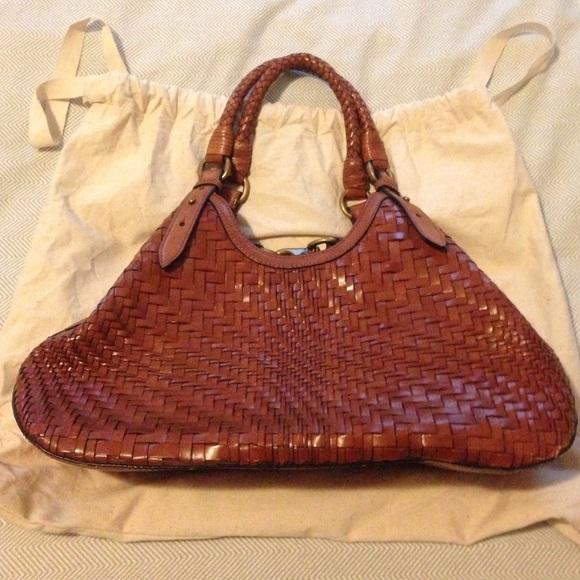 8ce7c57d7993 Cole Haan Handbags - Cole Haan woven leather bag