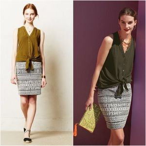 Marauta Pencil Skirt - Anthropologie