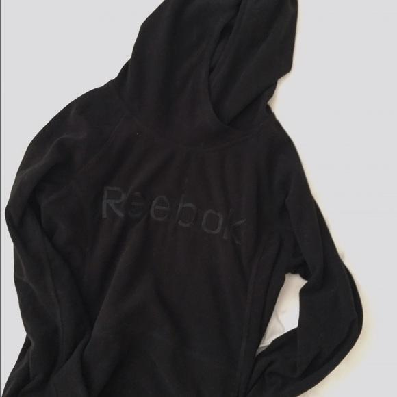 reebok black sweatshirt