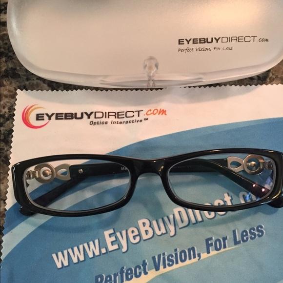 1af61ded72 Eye Buy Direct Accessories - Black Frame EYE GLASSES