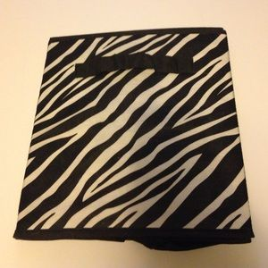 Other - Zebra cube organizer. The second one is fuzzy.