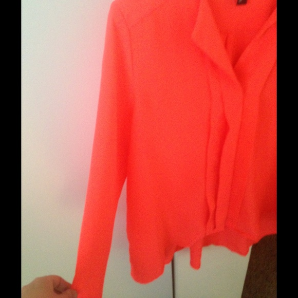 Zara Neon Lace Blouse 118