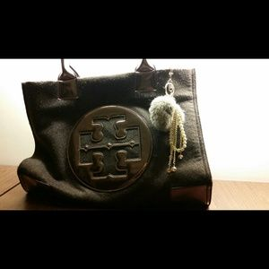 Authentic Tory Burch Large Ella Tote