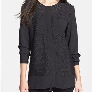 Calvin Klein Perforated Tunic