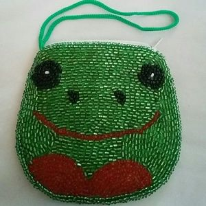 Handbags - Frog coin purse