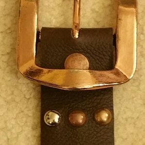 Cache Belt w/ silver, copper & gold
