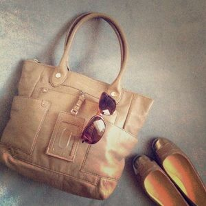 MBMJ Preppy Leather Dakota Tote