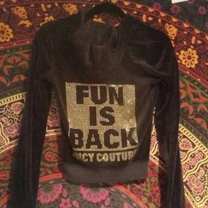 Blue Juicy couture jacket