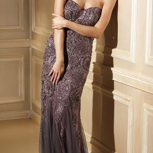 Terani Evening Gown GL379 Size 10 Brand New
