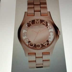 New Marc by Marc Jacobs woman's Rose Gold Watch