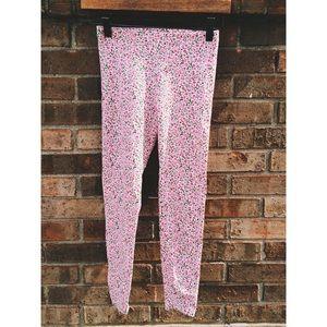 American Apparel Pink Floral Leggings