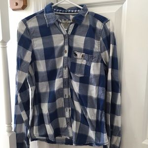 abercrombie flannel 