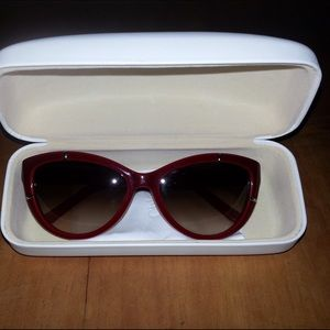 % AUTHENTIC Chloe REDCatEye Sunglasses