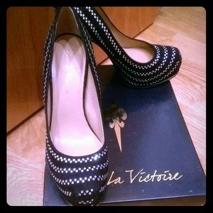REDUCED!! Pour la Victoria pumps