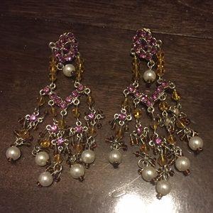 Glam Chandelier Earrings