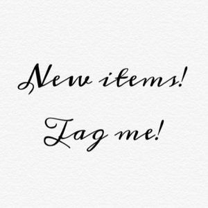 """""""LIKE"""" THIS POST TO BE TAGGED ON NEW ARRIVALS"""