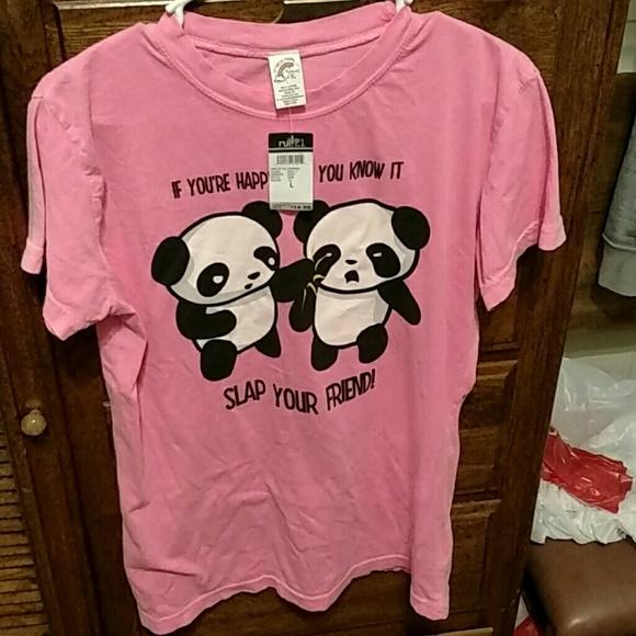 Rue21 Tops Rue 21 Pink Graphic Tee Poshmark