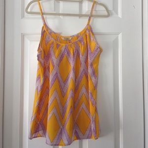 Anthropologie Tops - ⚡️SALE⚡️Gorgeous TUCKER Silk Cami. RARE!