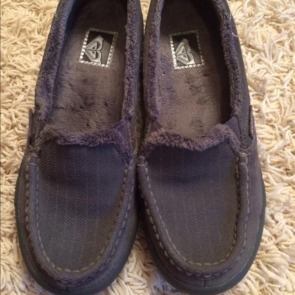 Roxy - Roxy Slip On Fur Lined Shoes Size 6 From Chanin ...