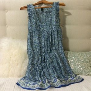 Mango flirtatious mini dress