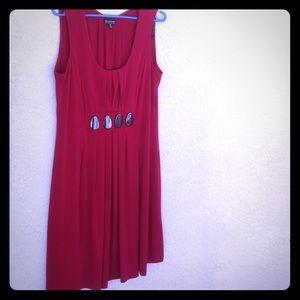 Dresses & Skirts - Burgundy jersey dress