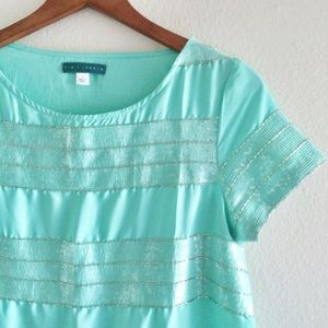 🆕Mint Green Blouse
