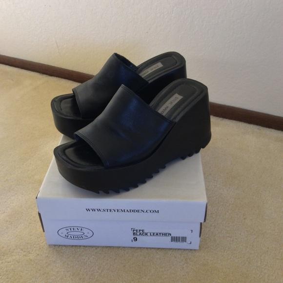 fc2fec66086 Steve Madden PePe wedge shoes