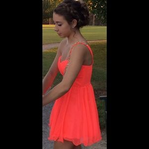 Dresses & Skirts - CORAL HOMECOMING DRESS